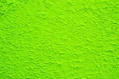 Texture and background of green concrete wall. Royalty Free Stock Images