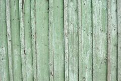 Texture background green old light striped of boards. Texture background green old light striped wooden boards Stock Image