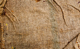 Texture background of grunge fabric Royalty Free Stock Photos