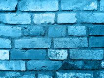 Texture and background. Hawaiian surf. Brick wall. This is a background.This is a brick wall.  This is a element of art. This is a color hawaiian surf Stock Images