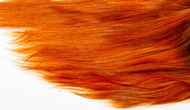 Texture, background. human hair red color. Highlight hair texture abstract background royalty free stock images