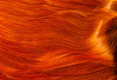 Texture, background. human hair red color. Highlight hair texture abstract background stock images