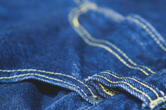Texture background of jeans Royalty Free Stock Photography