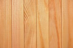 Texture, background  - natural wood boards plank with knots and fibers. Stock Photography