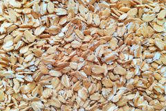 Oat-flakes. royalty free stock photo
