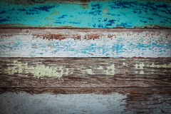 Texture and background of old log with peeled color Royalty Free Stock Image