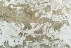 Texture, background: оld peeling concrete wall. Texture, background: old concrete wall with peeling plaster and crumbling whitewash Royalty Free Stock Image