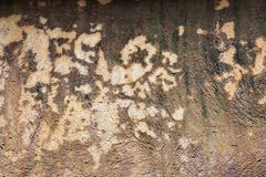 Texture and Background of old stucco wall with stains of paint a Stock Image