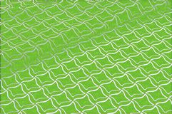 Texture, background, pattern. Abstraction. Green embossed background. Rhombuses of white color. Computer drawing royalty free stock image