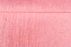 Texture, background, pattern. Cloth silk dense pink. Jacquard fa. Bric royalty free stock images