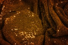 Texture, background, pattern, fabric with paillettes. Nothing he royalty free stock photo
