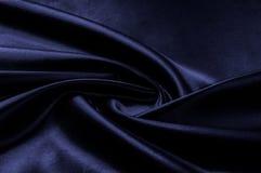 Texture, background, pattern. Fabric silk color cobalt, smalt, b. Lue royal Royalty Free Stock Photos
