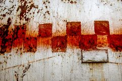 Texture, background, pattern. Old rusty iron. Rusty metal. Rusty Stock Images