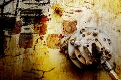 Texture, background, pattern. Old rusty iron. Rusty metal. Rusty Royalty Free Stock Photos