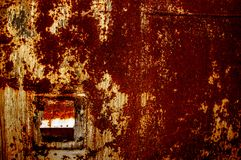 Texture, background, pattern. Old rusty iron. Rusty metal. Rusty Royalty Free Stock Images