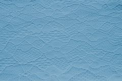 Modern blue lace texture. Designers background. stock images