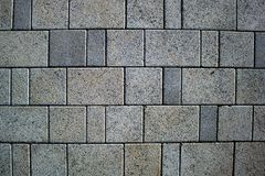 Texture background paving stone, large slab pavement, pedestrian street royalty free stock photography