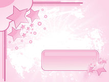 Texture background with pink star Stock Photos