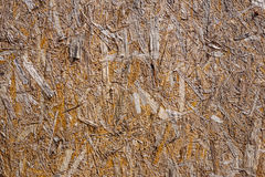 Texture or background pressed sawdust . pressed chipboard Royalty Free Stock Photos