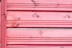 Texture, background, red wooden slats. Fence/ Stock Image