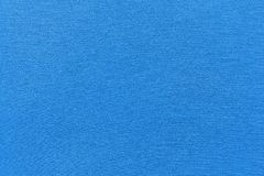 Texture and background of rough fabric azure color Royalty Free Stock Photography