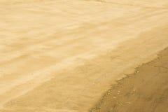 Texture, background. the sand on the beach. loose granular subst Stock Photos