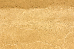 Texture, background. the sand on the beach. loose granular subst Stock Photo