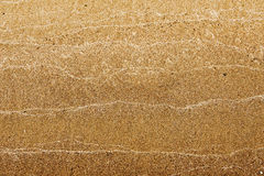 Texture, background. the sand on the beach. loose granular subst Royalty Free Stock Photo
