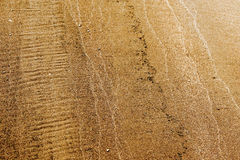 Texture, background. the sand on the beach. loose granular subst Royalty Free Stock Image