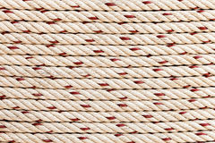 Texture background of the string in horizontal Royalty Free Stock Photo