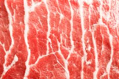 Texture or background of tasty fresh meat. Red beef meat close up texture. Meat food background stock image