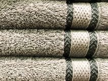 Texture, background of terry towels royalty free stock image