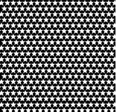 White stars on a black background. Texture, background. white stars on a black background, pattern, straight rows Royalty Free Stock Photos