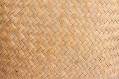 Texture and background of wicker basket Stock Images