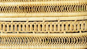Texture, background - wicker basket of thin twigs stock photography