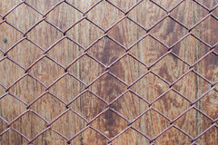 Texture background wood and net Royalty Free Stock Image