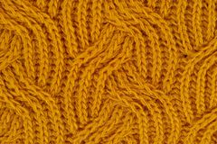 Brown Knitted Textile royalty free stock images