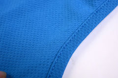 The texture of a badminton uniform Stock Images