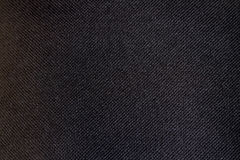 Texture bag. Photo of black backpack texture. Macro photography Stock Photography