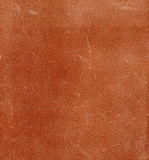 Texture of bakhtarma skin a vegetable tanning reddish color. Stock Photography