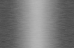 Texture balayée brillante en métal Photo stock