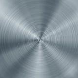 Texture balayée concentrique en métal illustration de vecteur