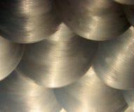 Texture balayée en métal Photo stock