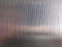 Texture balayée par acier en métal photos stock