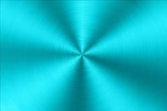 Texture balayée par circulaire bleue en métal Images stock