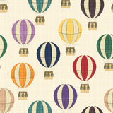 Texture with balloons Stock Images