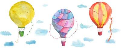 Texture balloons Stock Image