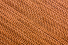 Texture of bamboo. Pressed bamboo texture. Diagonal position Stock Image