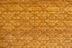 Texture of  bamboo basket Stock Image