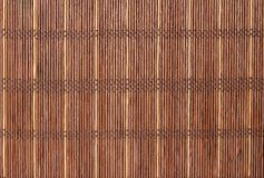 Texture a bamboo with fabric weaving. Cloth Stock Image